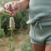 Shortie knit bloomer