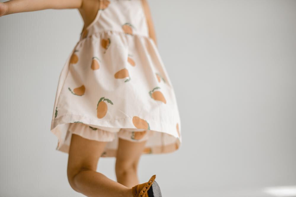 Mangoes Dress and Bloomers