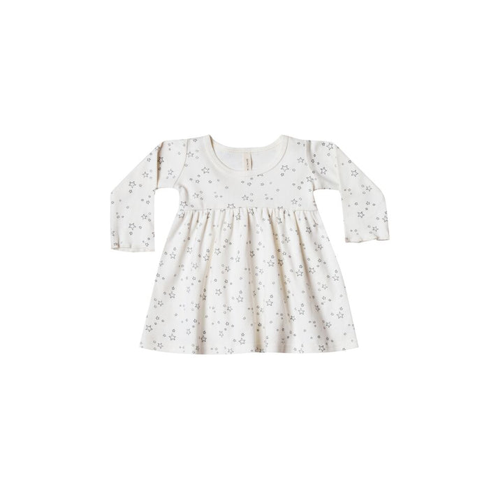 Quincy Mae Ivory Baby Dress