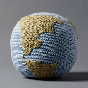 I AM THE WORLD Crochet Rattle