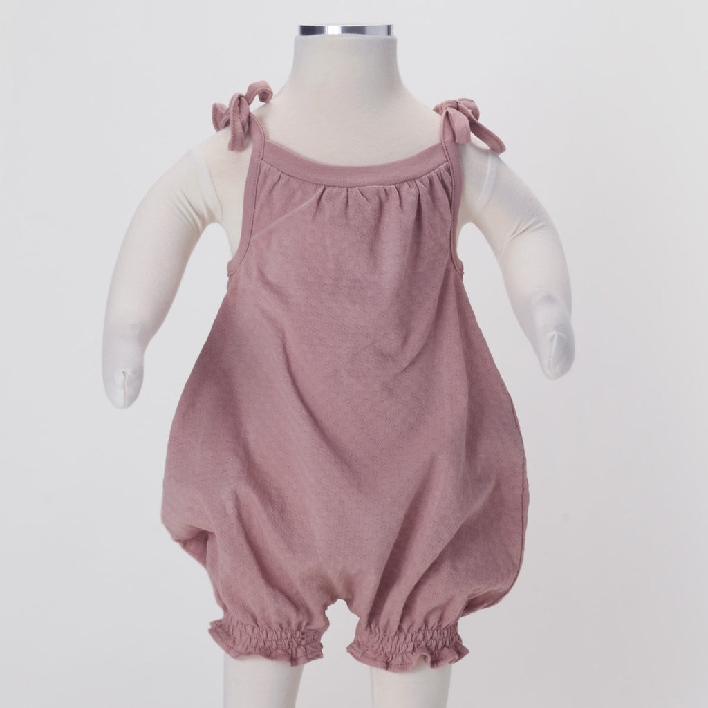Rounded Romper w/ Ties
