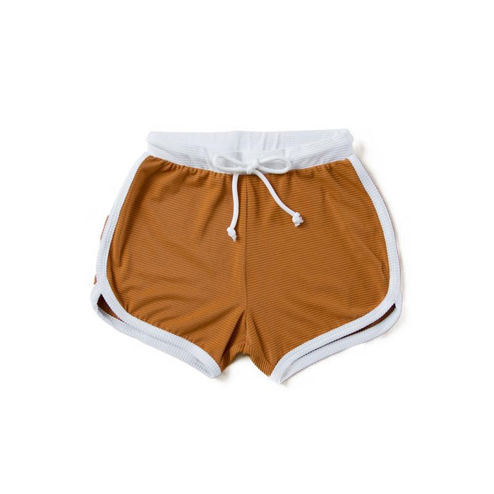 Rust Swim Trunks