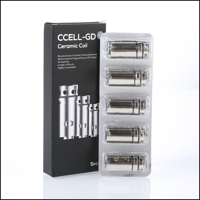 CCELL Replacement Coil 5-Pack (For Target Mini Tank)