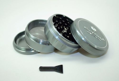 "Sharpstone V2 Herb & Tobacco Grinder 2.1"" Hard Top - Green"