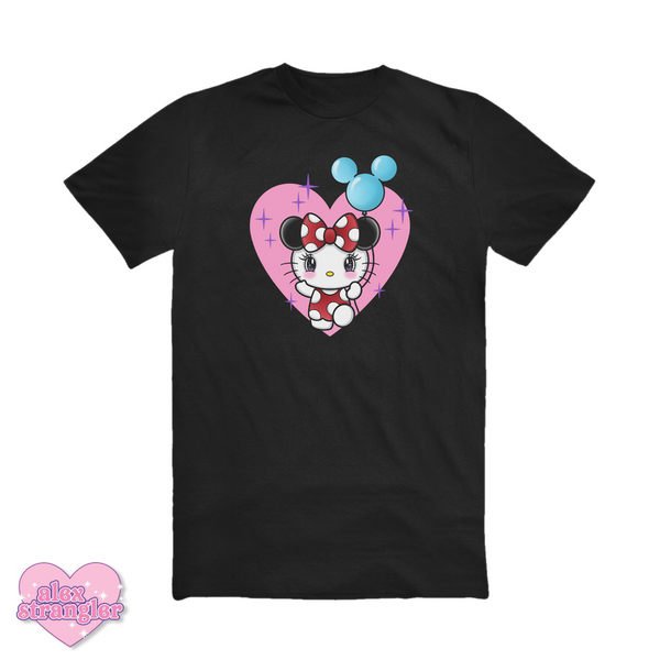 Kitty Goes To The Park - Unisex Tee