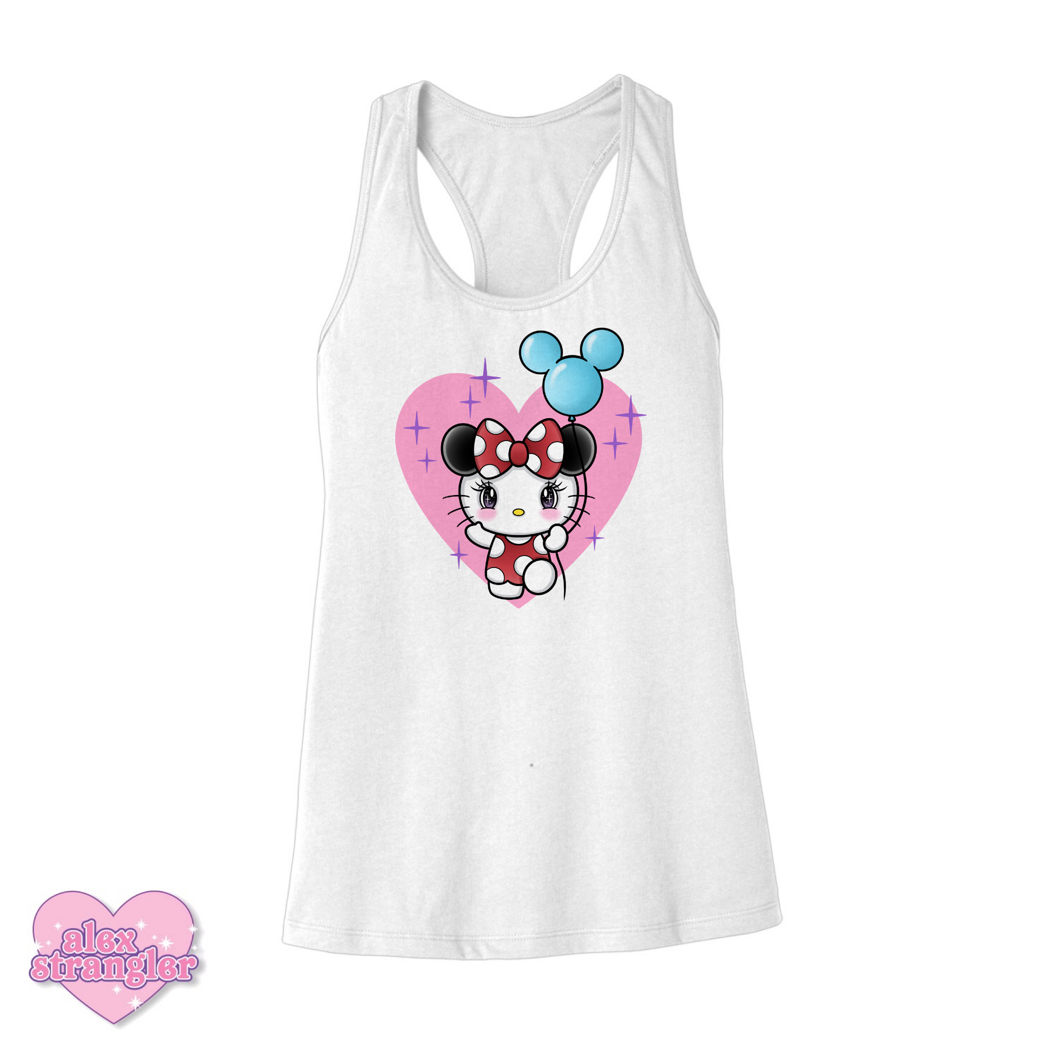 Kitty Goes To The Park - Women's Tank
