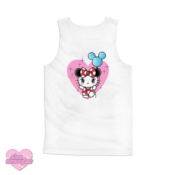 Kitty Goes To The Park - Men's/Unisex Tank