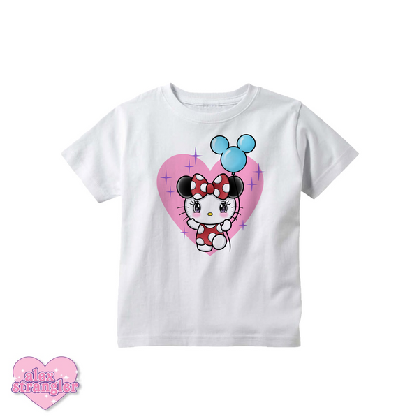 Kitty Goes To The Park - Kids Tee
