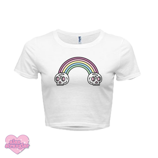 Death Rainbow - Women's Crop Top