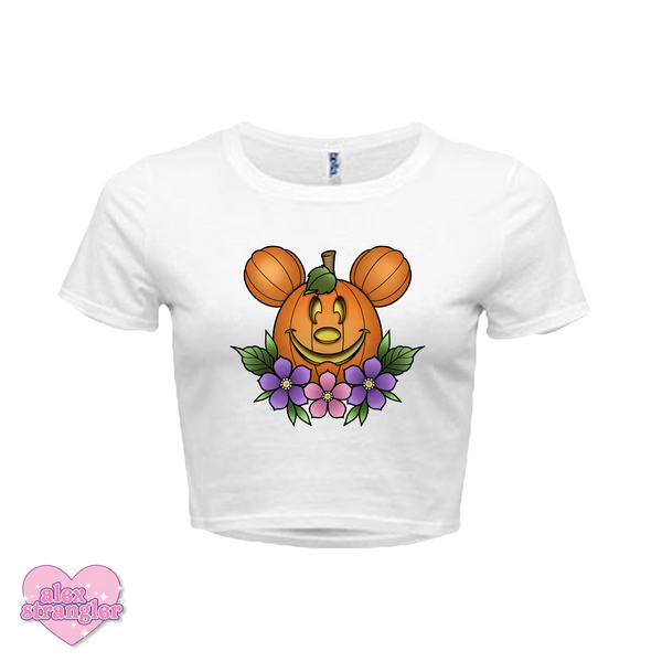 Main Street Pumpkin - Women's Crop Top