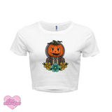 Pumpkin Dwight - Women's Crop Top