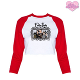 The Belcher Family - Women's Cropped Raglan