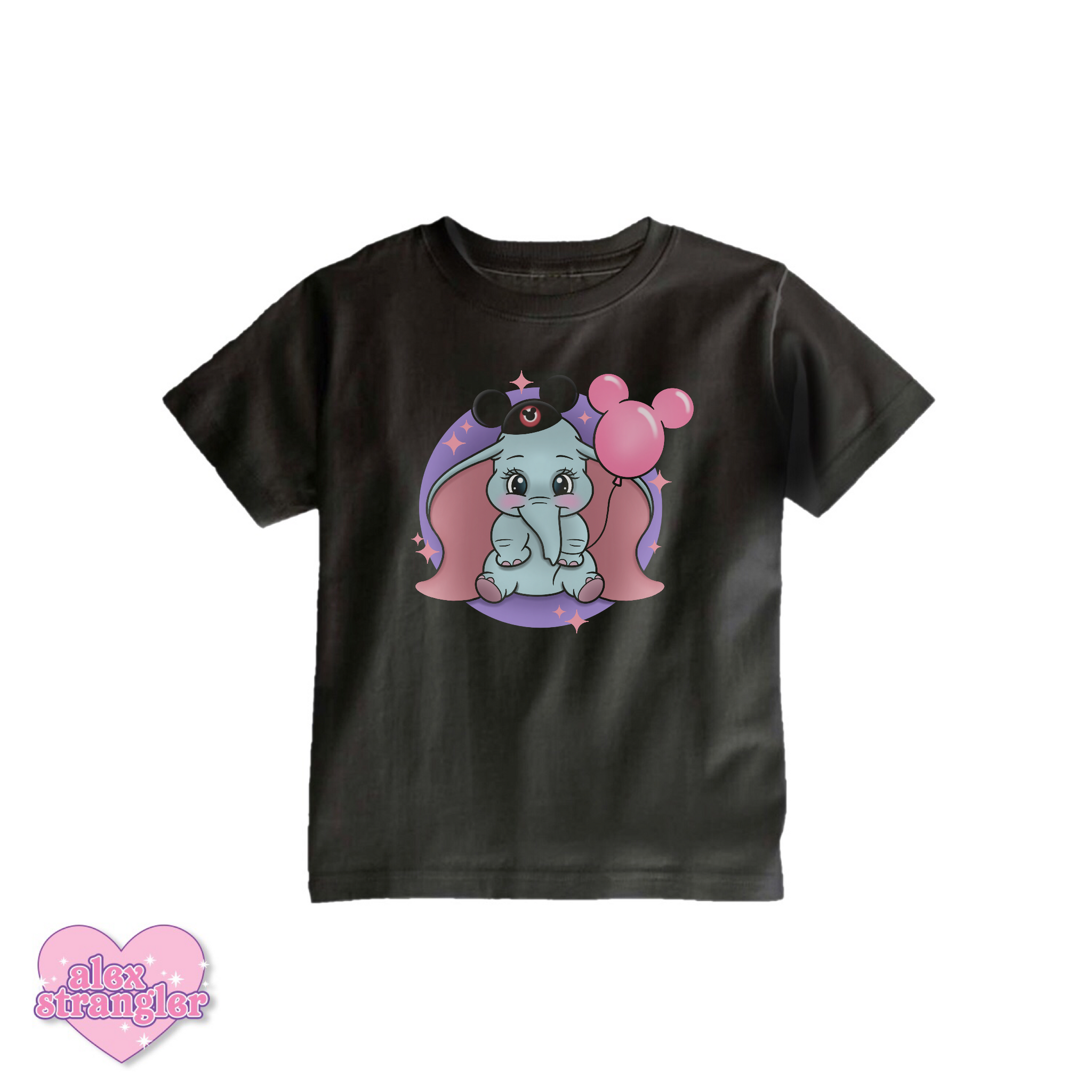 Dumbo Goes To The Park - Kids Tee