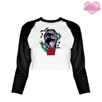 Strange and Unusual - Women's Cropped Raglan