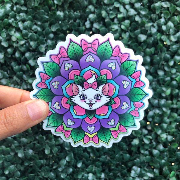 Marie Geo-Flower - Sticker
