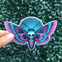 Death Moth - Sticker
