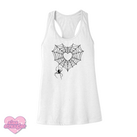 Spiderweb Heart - Women's Tank