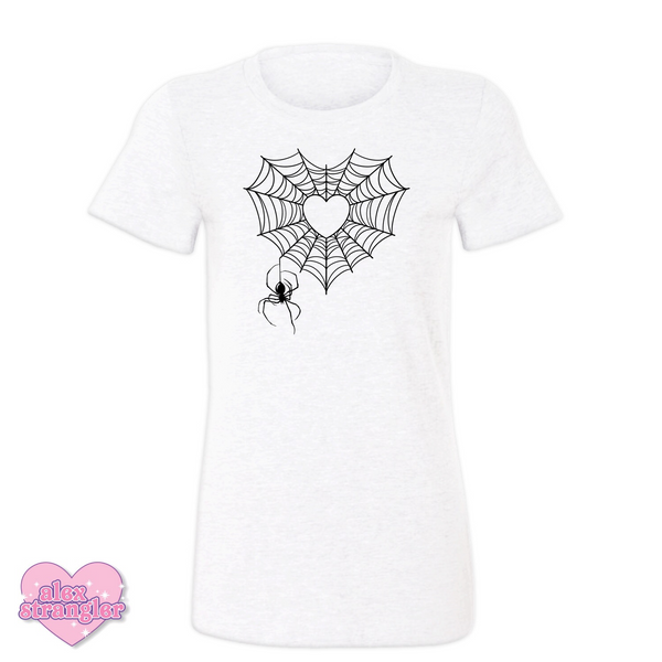 Spiderweb Heart - Women's Tee