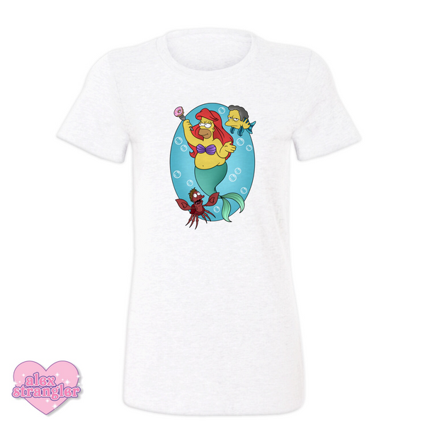 Homer Under The Sea  - Women's Tee