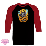 Spoopy Kitty - Unisex Raglan