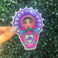 Matryoshka Nesting Doll - Sticker