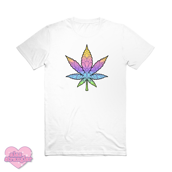 Geo-Flower Leaf  - Men's/Unisex Tee