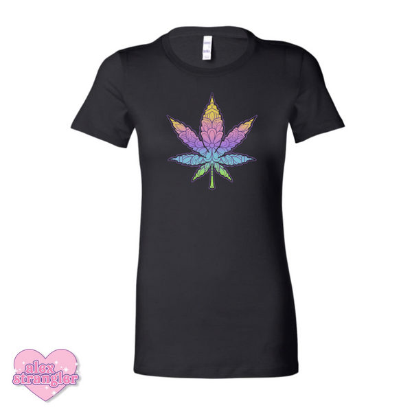 Geo-Flower Leaf  - Women's Tee