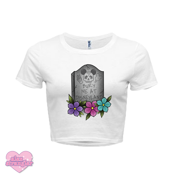 Bury Me At The Park - Women's Crop Top