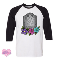 Bury Me At The Park - Unisex Raglan