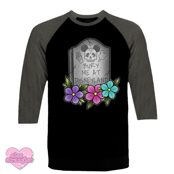 Bury Me At The Park - Men's/Unisex Raglan