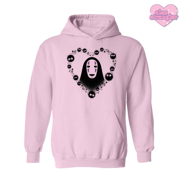 No Face Heart - Men's/Unisex Hoodie