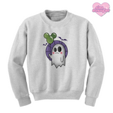 Not So Scary Ghost - Unisex Crewneck Sweatshirt