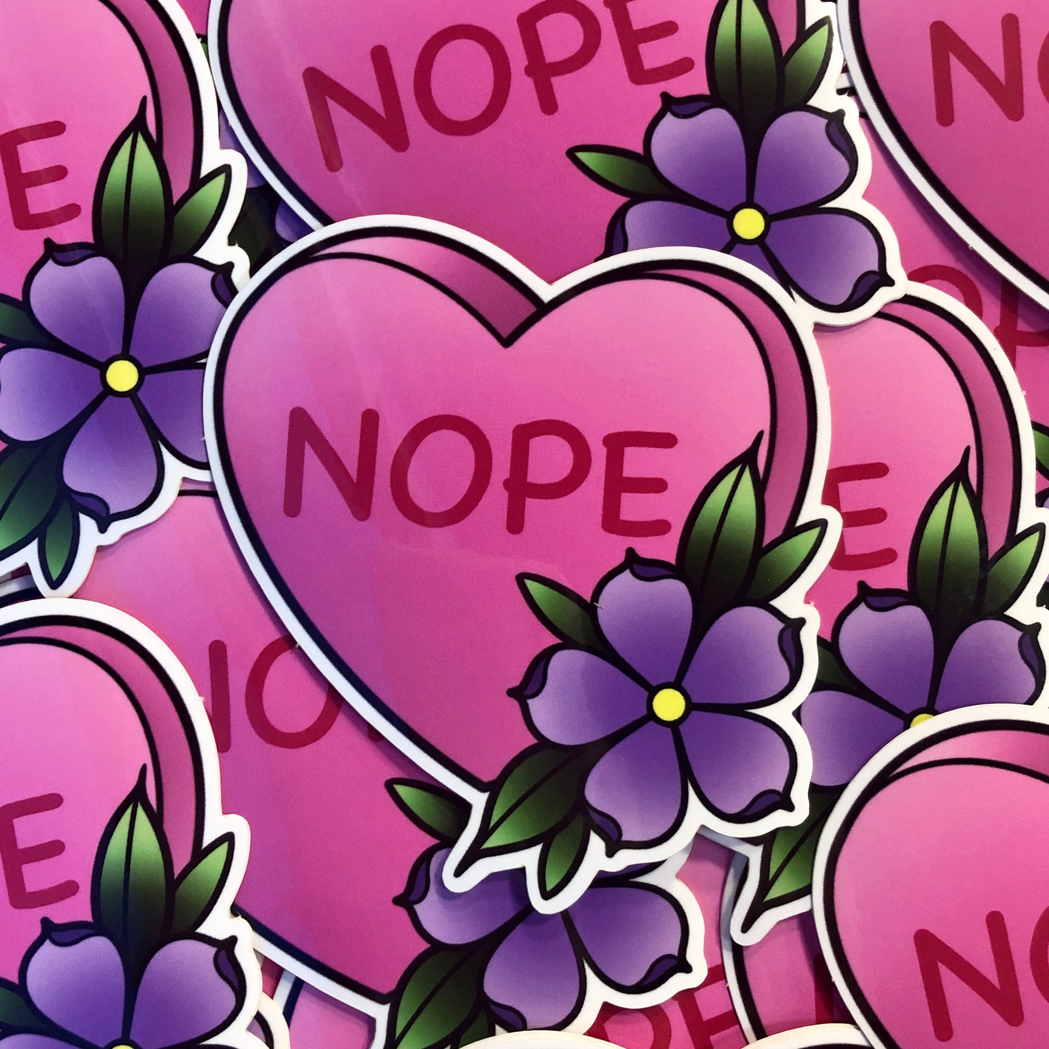 Nope - Sticker
