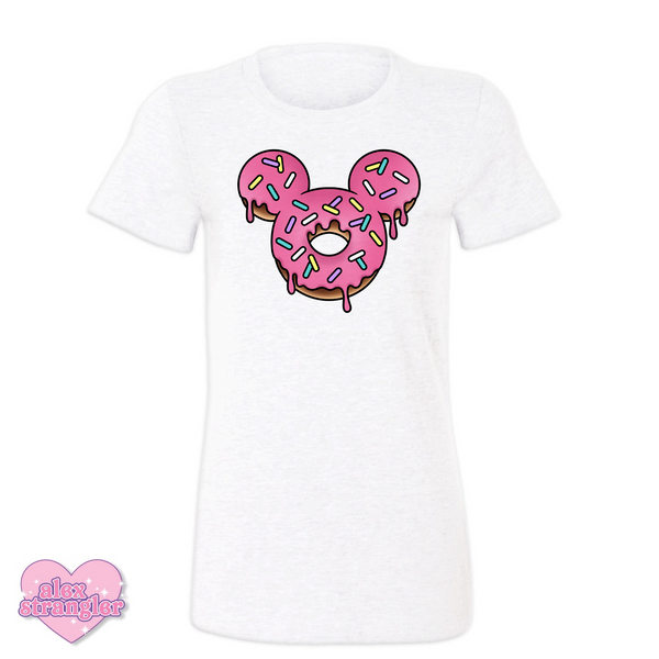 Mr. Donut Mouse - Women's Tee