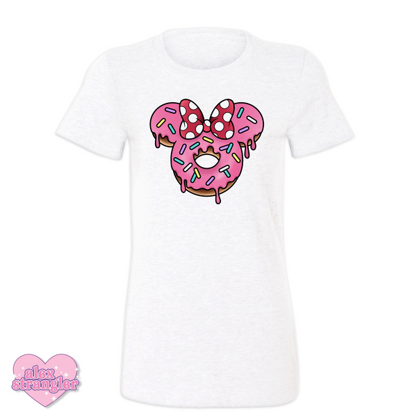 Mrs. Donut Mouse - Women's Tee