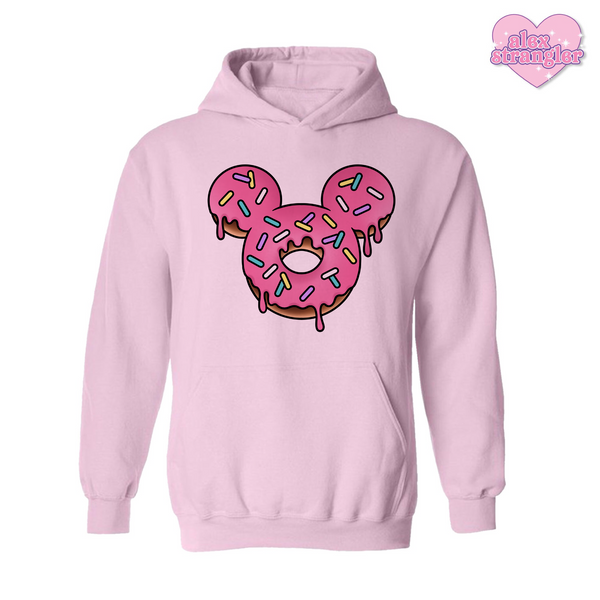 Mr. Donut Mouse - Men's/Unisex Hoodie