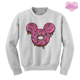Mr. Donut Mouse - Unisex Crewneck Sweatshirt