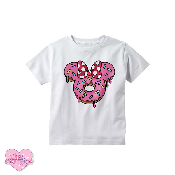 Mrs. Donut Mouse - Kids Tee