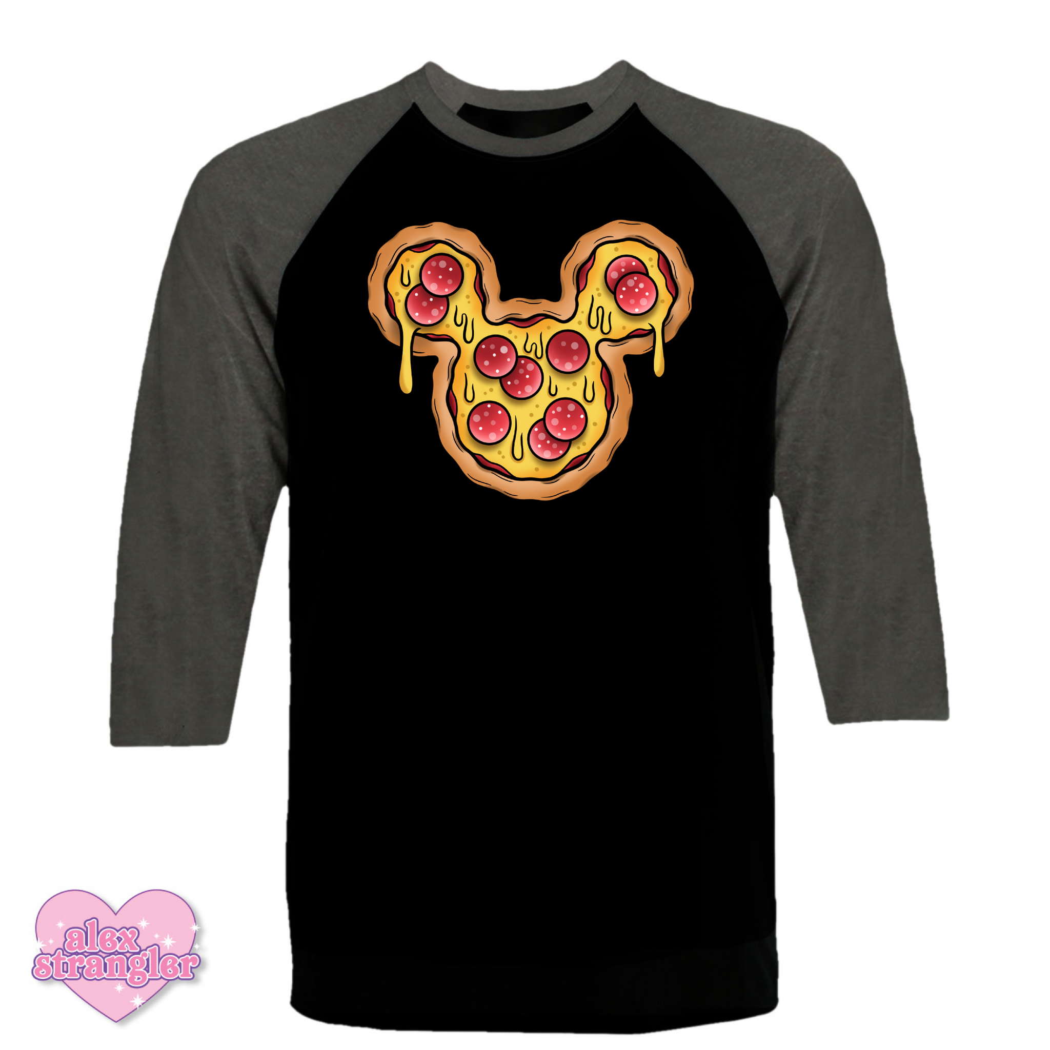 Mr. Pizza Mouse - Unisex Raglan