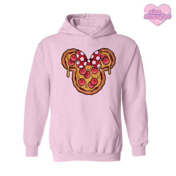 Mrs. Pizza Mouse - Men's/Unisex Hoodie