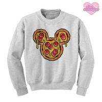 Mr. Pizza Mouse - Unisex Crewneck Sweatshirt