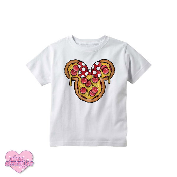 Mrs. Pizza Mouse - Kids Tee