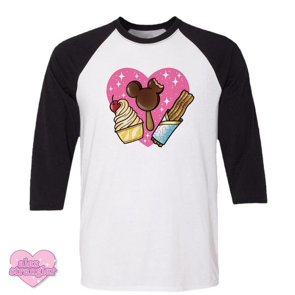 Park Treats - Men's/Unisex Raglan