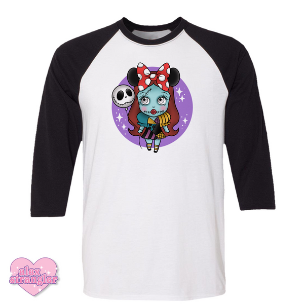 Nightmare Sally - Men's/Unisex Raglan