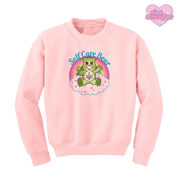 Self Care Bear - Unisex Crewneck Sweatshirt