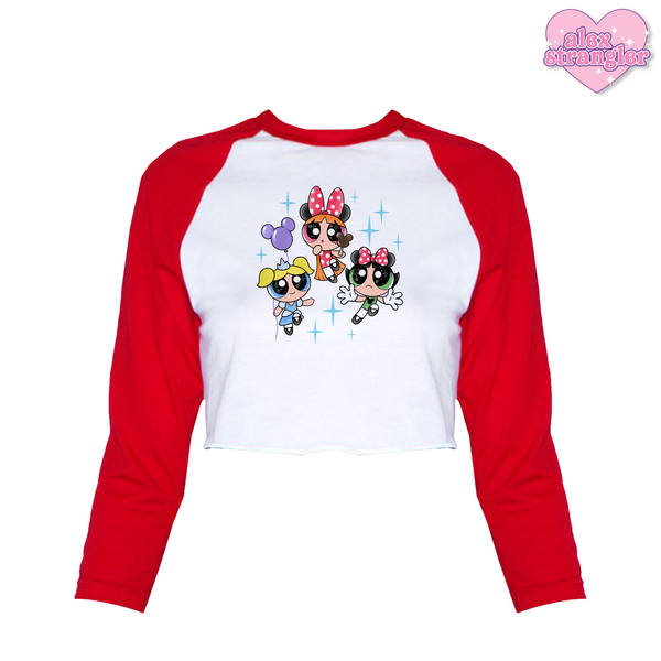 Park Girls - Women's Cropped Raglan