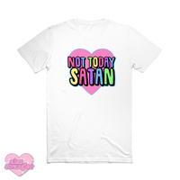 Not Today Satan - Unisex Tee