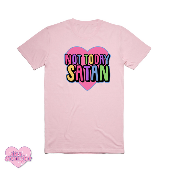 Not Today Satan - Men's/Unisex Tee
