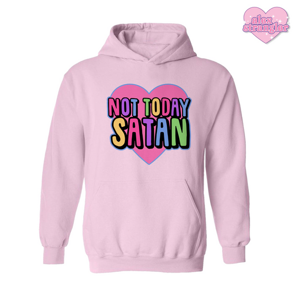 Not Today Satan - Men's/Unisex Hoodie