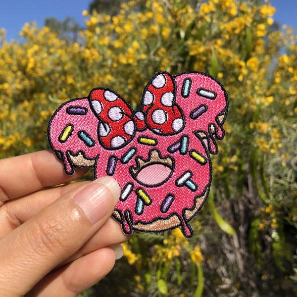 Mrs. Donut Mouse - Patch